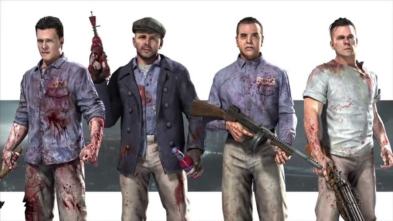Bo2 mob of the dead the characters and the blundergat - Mob of the dead pictures ...