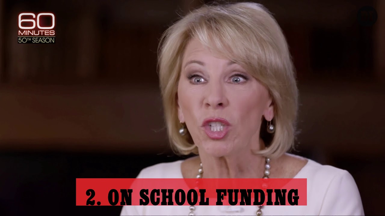 Recent Devos Hires Bode Ill For Student >> Quiz What S The Worst Part Of This Betsy Devos Exchange