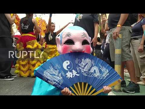 Brazil: Thousands attend Chinese Lunar New Year celebrations in Sao Paulo