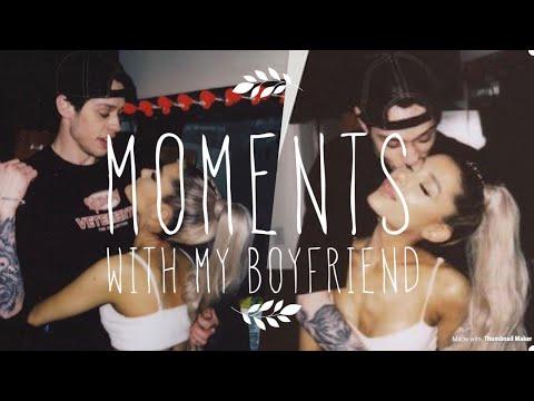 Instagram moments with boyfriend Pete Davidson | Ariana Grande Vlogs