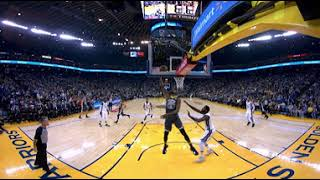 *click around* you have the best seat in house to experience gsw and bc 2017-18 highlights! view full vr now nextvr: http:...