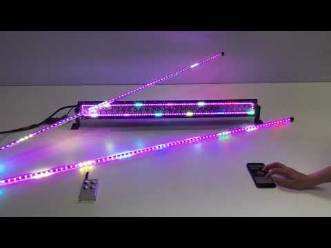 """Newest 2pack led chasing whip sync with 31.5"""" white amber plus rgbw chasing halo,"""