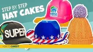 4 Hats… of CAKE! | Compilation | How To Cake It