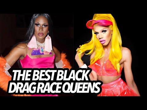 The BEST BLACK Drag Race Queens