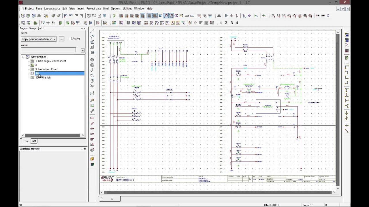 Wiring Ethernet Socket Diagram Eplan Basics Symbols Macros Placeholders Youtube