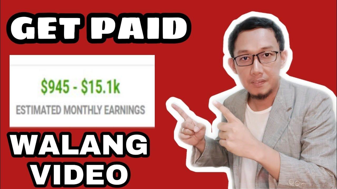 Kumita Ng $2,500 Per Month Sa YouTube Kahit Walang Video - Paano Kumita Sa YouTube