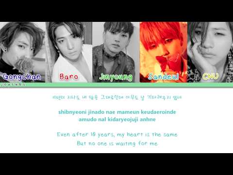B1A4 - 10 Years Later (Color Coded Han/Rom/Eng)