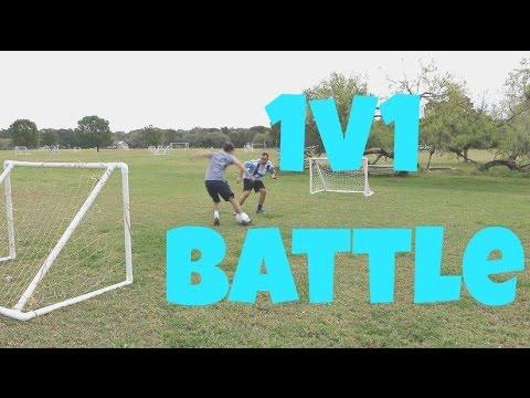 Small Sided 1v1 SOCCER MATCH | Soccer Training