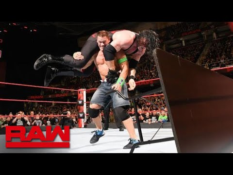 John Cena vs. Kane - No Disqualification Match: Raw, March 26, 2018 thumbnail