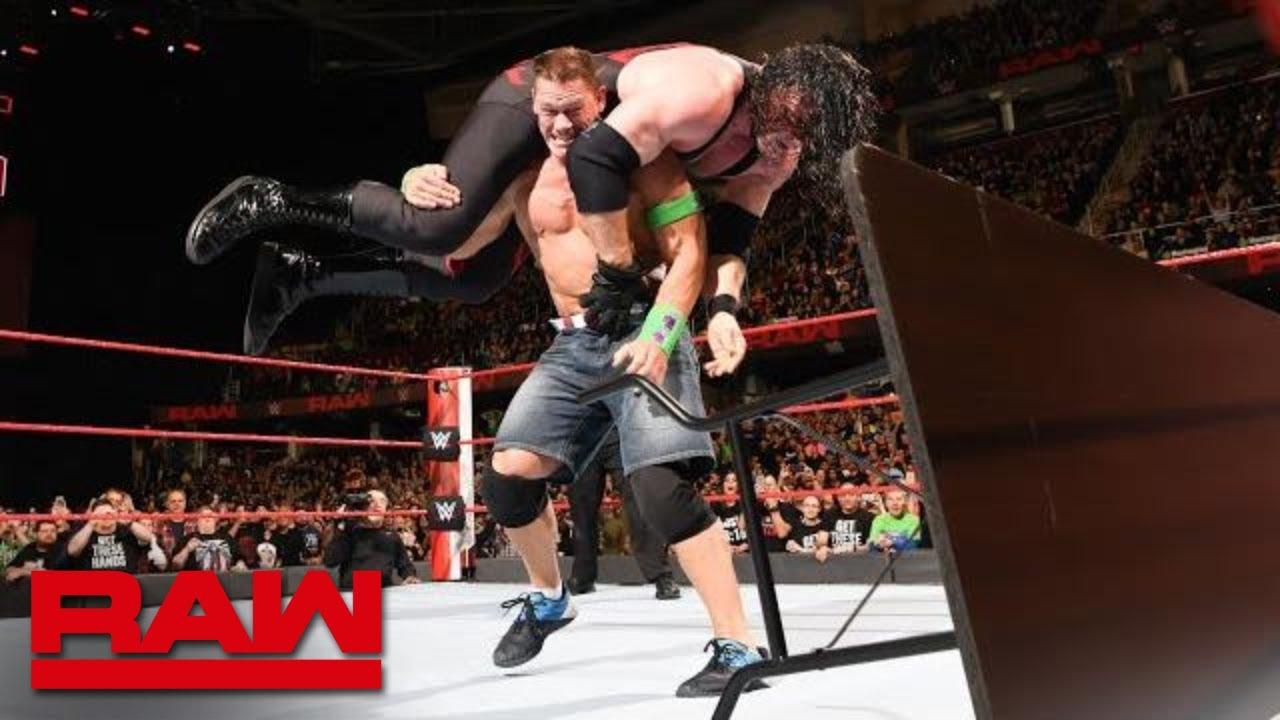Download John Cena vs. Kane - No Disqualification Match: Raw, March 26, 2018