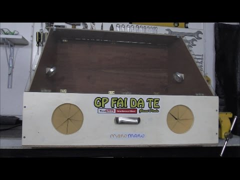 Test Make A Cabin Painting Case With Suction And Rotating Plate