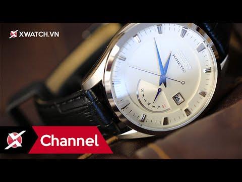 Đồng hồ Seiko Kinetic SRN071P1: Chính xác và bền bỉ - Xchannel