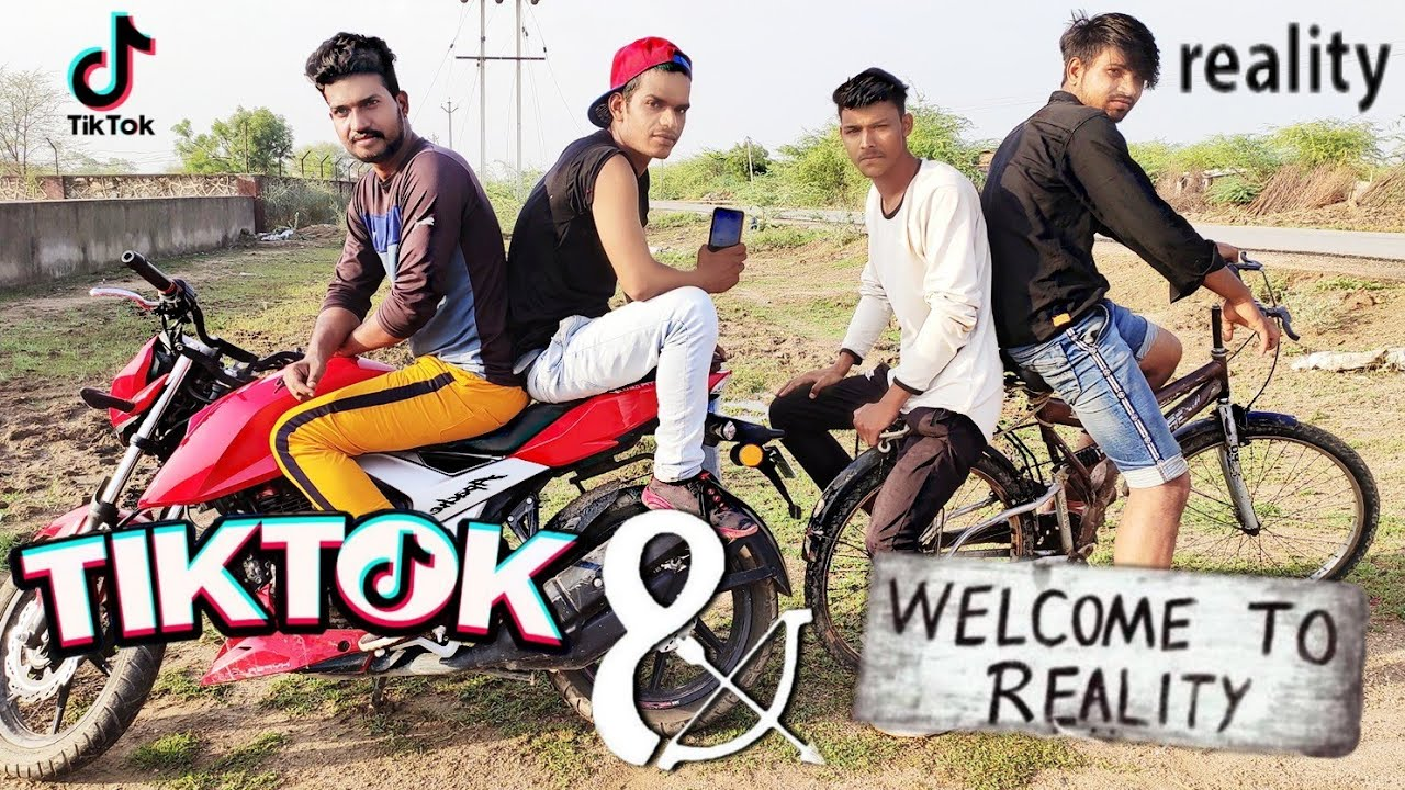 Tik Tok  And Reality | Comedy video | #T2 #TIMERTEAM |
