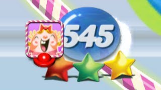 Candy Crush - CRAZY LEVEL 1 TO 545 COMBO!!