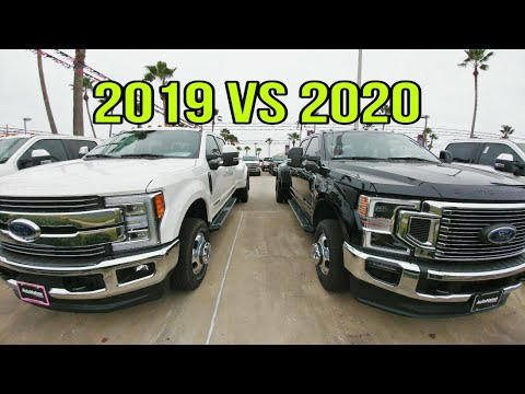 2019 Vs 2020 Ford Super Duty! The Suspension Differences!