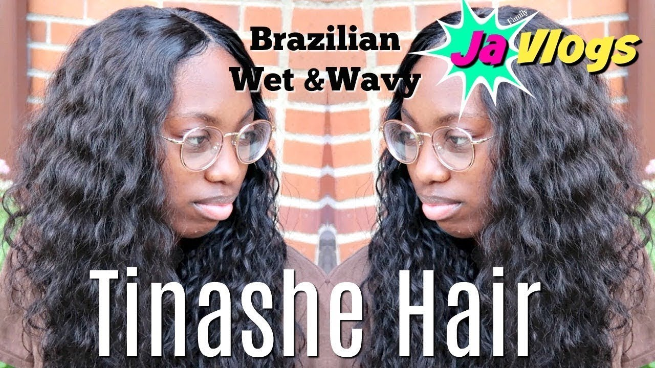 HOW I DO A SEW IN FT TINASHE HAIR BRAZILIAN WET & WAVY