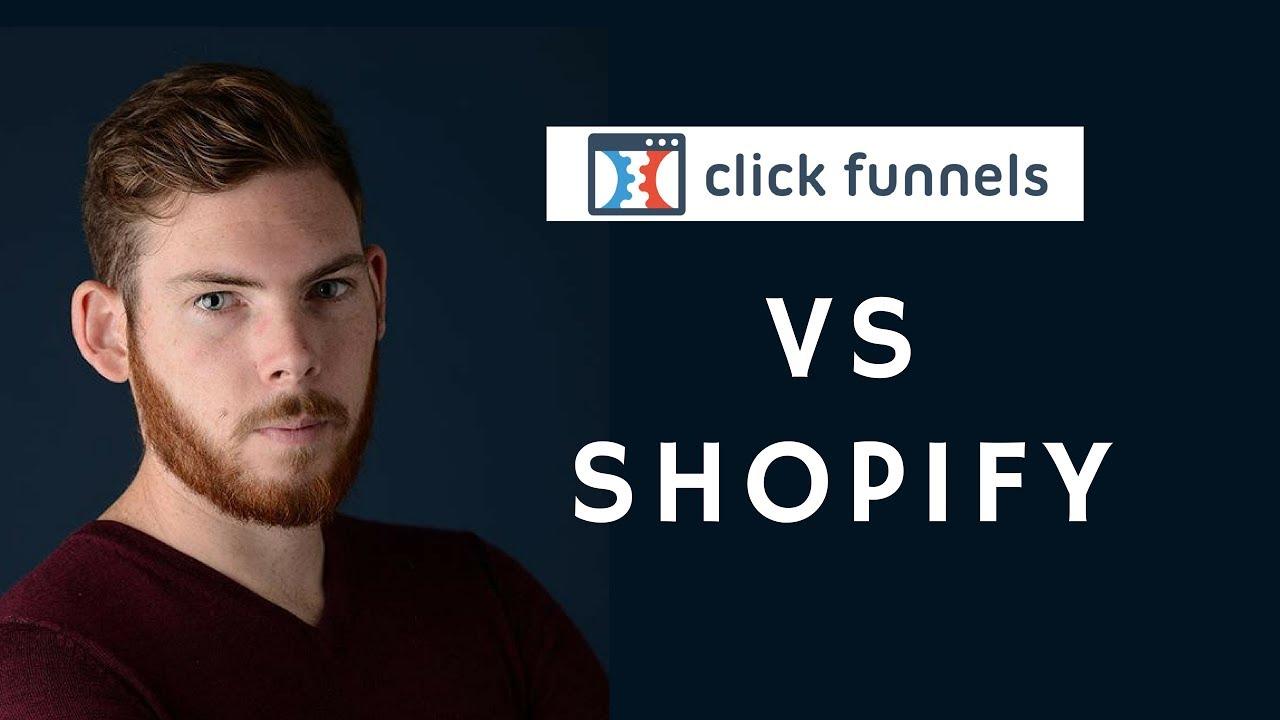 Clickfunnels de A à Z - meilleur que SHOPIFY pour le dropshipping?