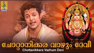 Chottanikkara Vazhum Devi a song from Amme Narayana Sung by Madhu Balakrishnan