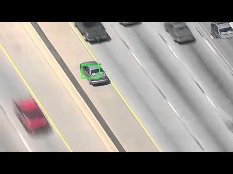 Particle Filter Tracking - Police Chases
