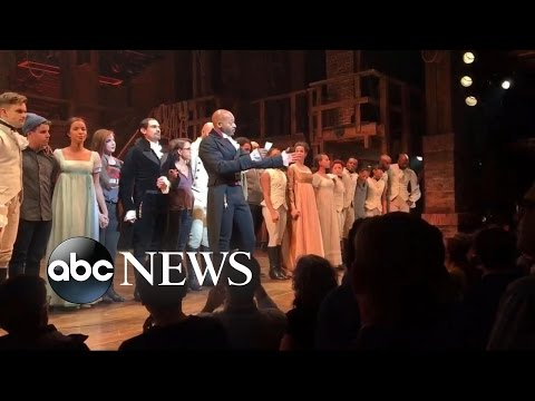 Mike Pence Responds to 'Hamilton' Incident