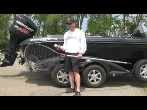 Making A Fishing Landing Net More Tangle Free