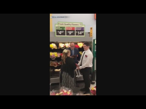 Tony Sandoval on The Breeze - Couple Decides to Get Married at the Walmart Where They Met.