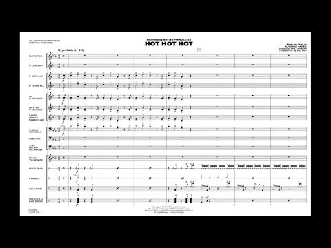 Hot Hot Hot by Alphonsus Cassellarranged by Paul Lavender