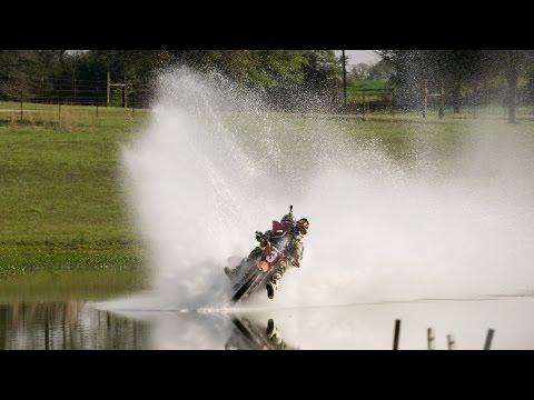 Backflips and Pond Skimming for Pastrana's Return to Motocross