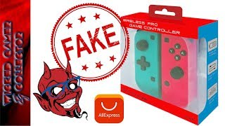 Nintendo Switch Fake JoyCon Pro Cheap Version Controller Review