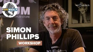 Simon Phillips interview - INFODRUM.PL