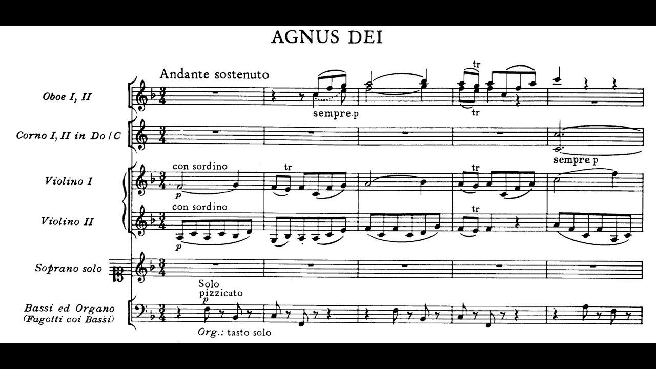 Agnus Dei Mozart