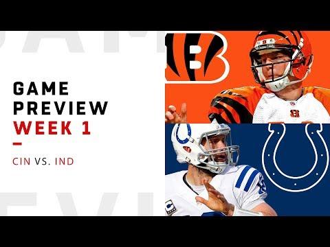 Indianapolis Colts vs. Cincinnati Bengals   Week 1 Game Preview   NFL Playbook
