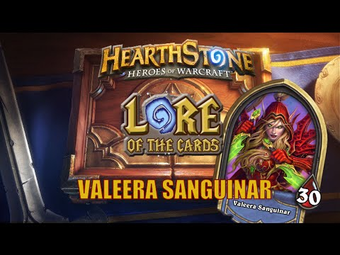 Hearthstone | Lore of the Cards | Valeera Sanguinar