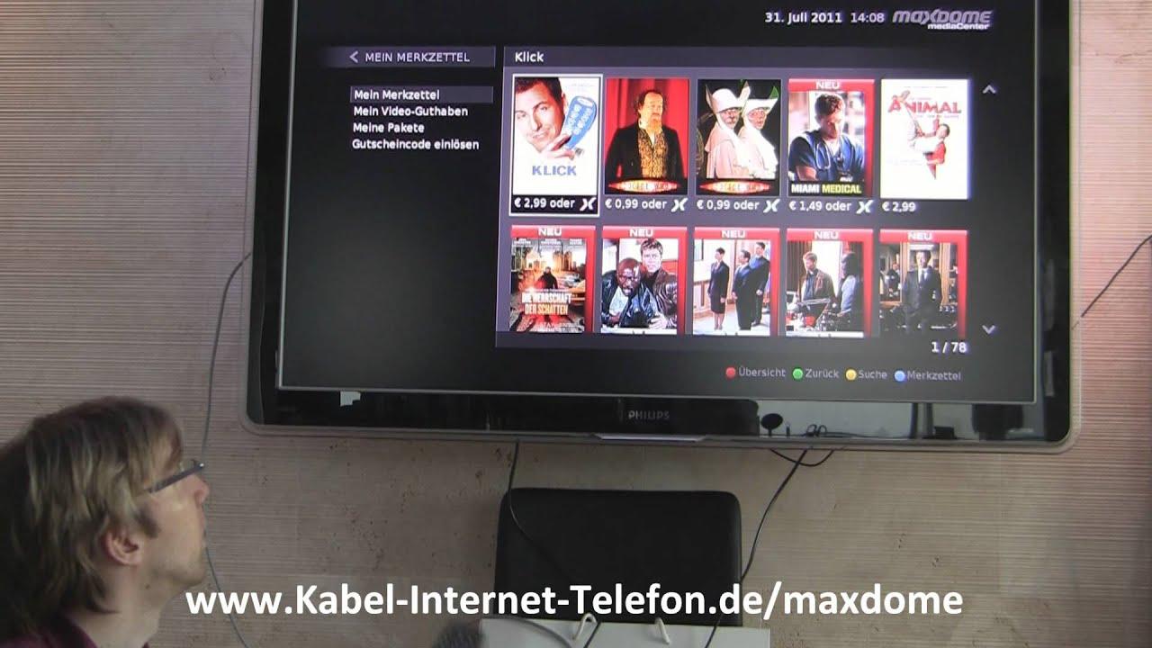 Maxdome Telefonnummer