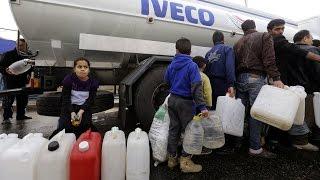 الصراع العسكري يؤدي إلى أزمة مياه شديدة في سوريا