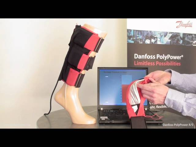 Active Bandage Concept using on PolyPower DEAP material