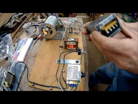 northern tool bandsaw dc motor upgrade done part 2