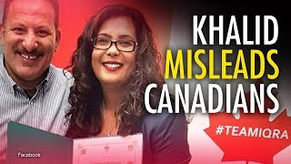"""Islamophobia"" MP Iqra Khalid gives award to anti-Semite — twice 