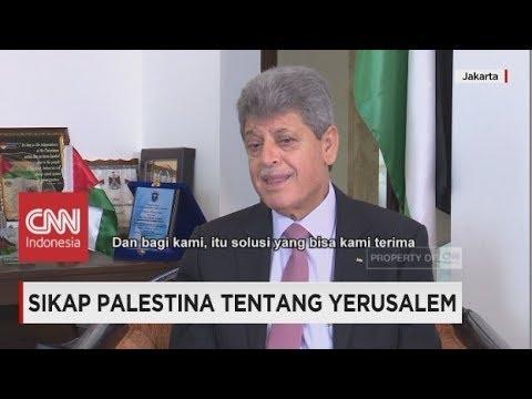 Kedubes AS Pindah Ke Yerusalem, Bagaimana Sikap Palestina?
