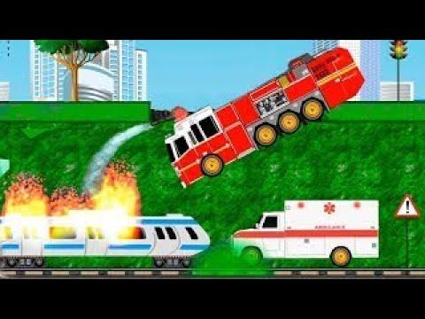 Мультики про машинки помощники в городе! Новый мультик игра для детей 2020 года.