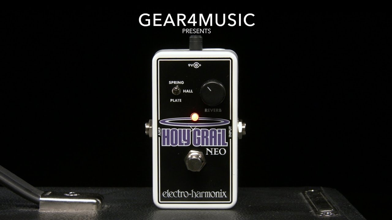 electro harmonix holy grail neo reverb gear4music demo youtube. Black Bedroom Furniture Sets. Home Design Ideas