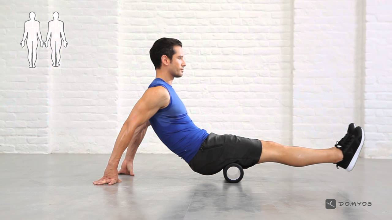 [迪卡儂] Domyos 健身運動品牌 健身滾筒使用教學 #3 - YouTube