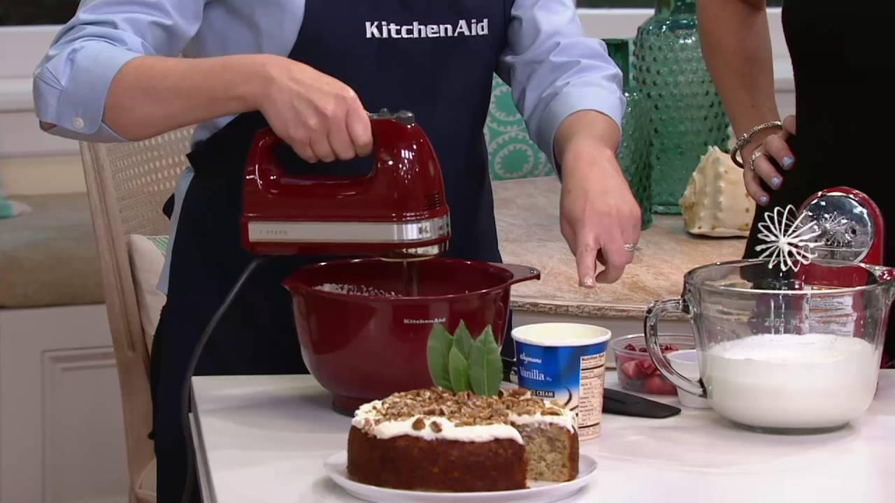 kitchenaid 9 speed digital hand mixer. kitchenaid 9-speed digital hand mixer w/ wire whisk \u0026 blender rod on qvc kitchenaid 9 speed