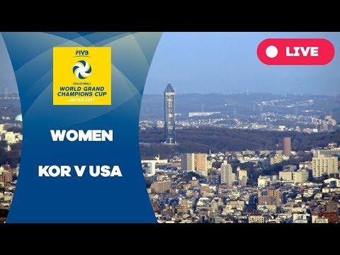 KOR v USA - 2017 Women's World Grand Champions Cup