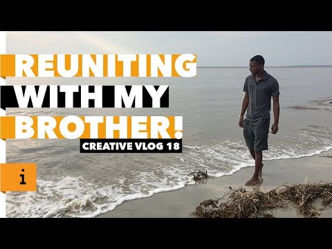 Reuniting With My Brother  | Traveling To Georgia | Creative Vlog 18