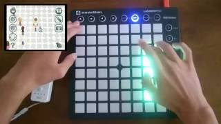 Nintendo Wii Mii Channel Trap Remix Launchpad MK2