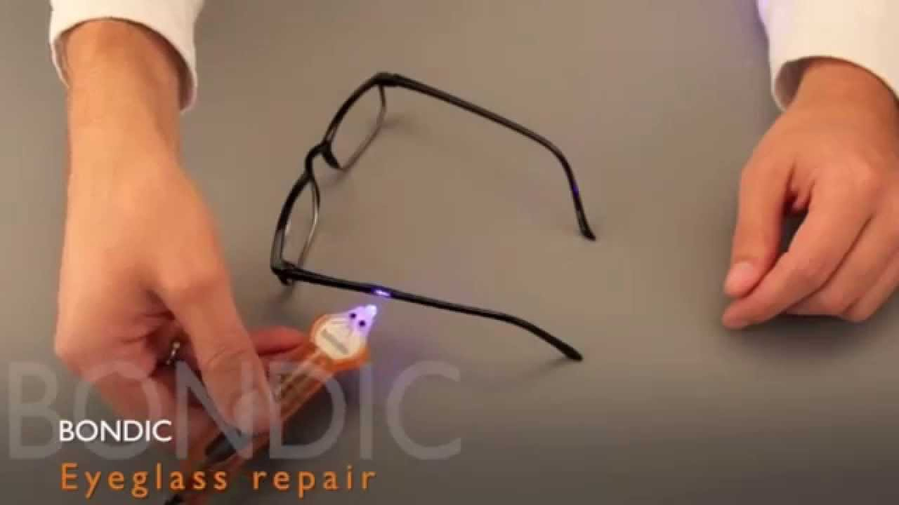 Bondic - Liquid Plastic Welder - Fix Broken Glasses - YouTube