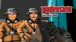 Wolfenstein 3D in Wolfenstein: The New Order - Gameplay