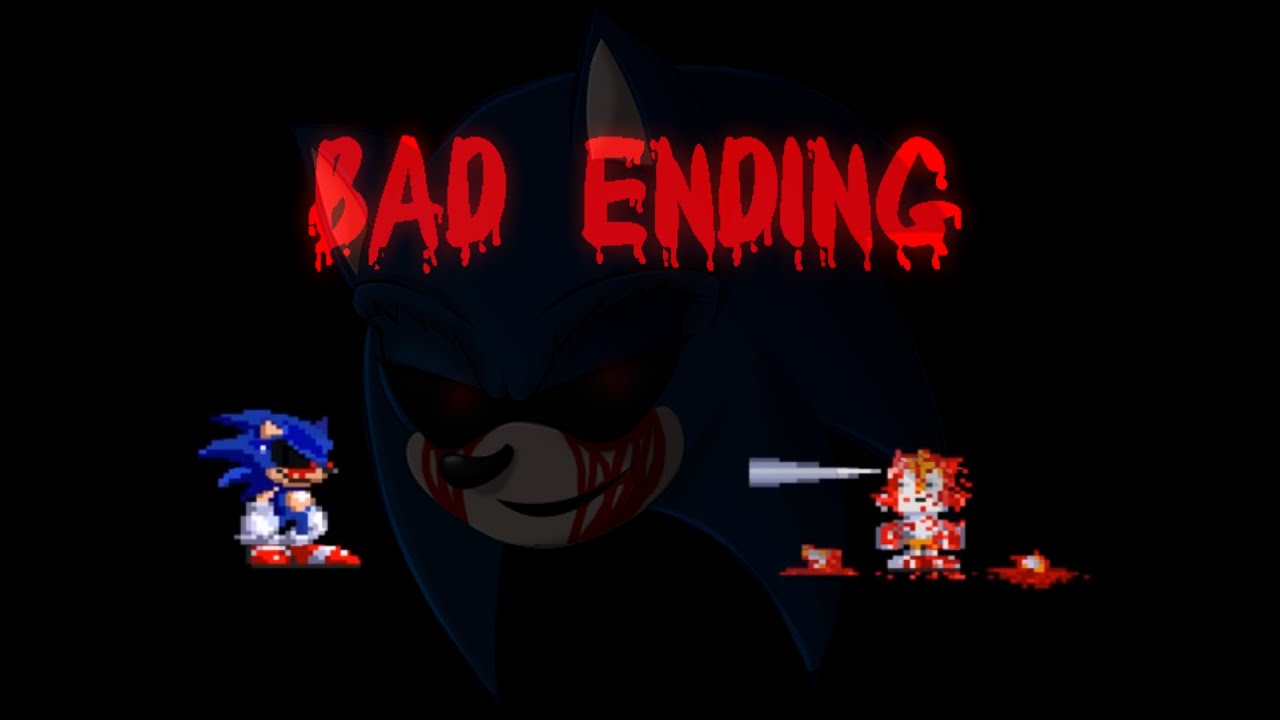 Sonic exe: Nightmare Beginning all the BAD ENDING and Tails in Hide and  Seek the Red Ring