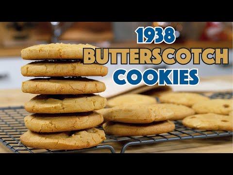 1938 Butterscotch Cookies Recipe